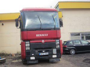 Išnuomojamas Renault Magnum vilkikas.